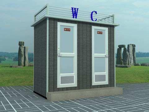 流动厕所常用的材料是什么?