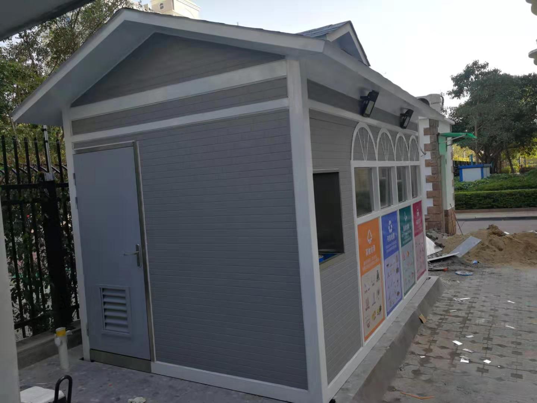 江苏徐州学校小区分类垃圾房定做