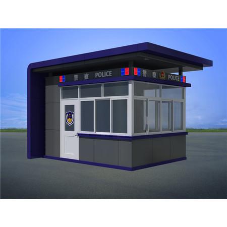 江西赣州高铁火车站治安警务执勤岗亭
