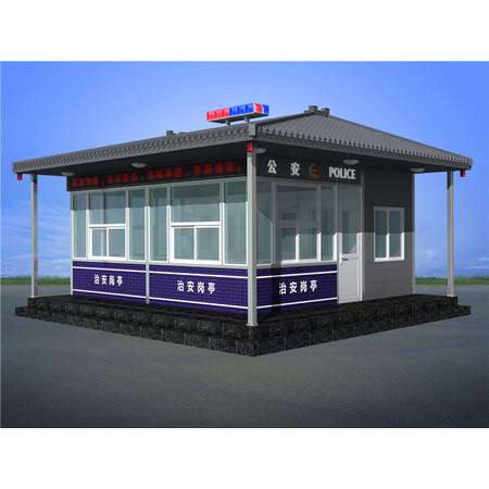 吉林长春高铁火车站治安警务执法岗亭