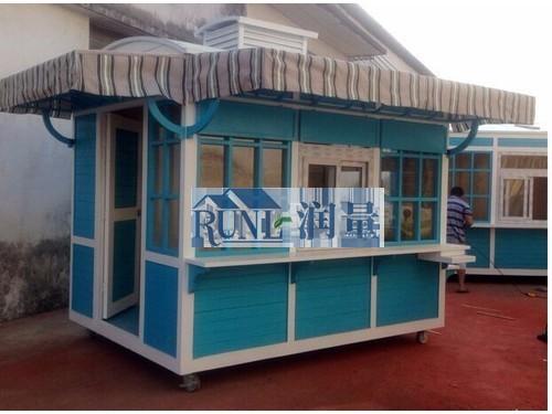 甘肃兰州景区商业街售货亭厂家