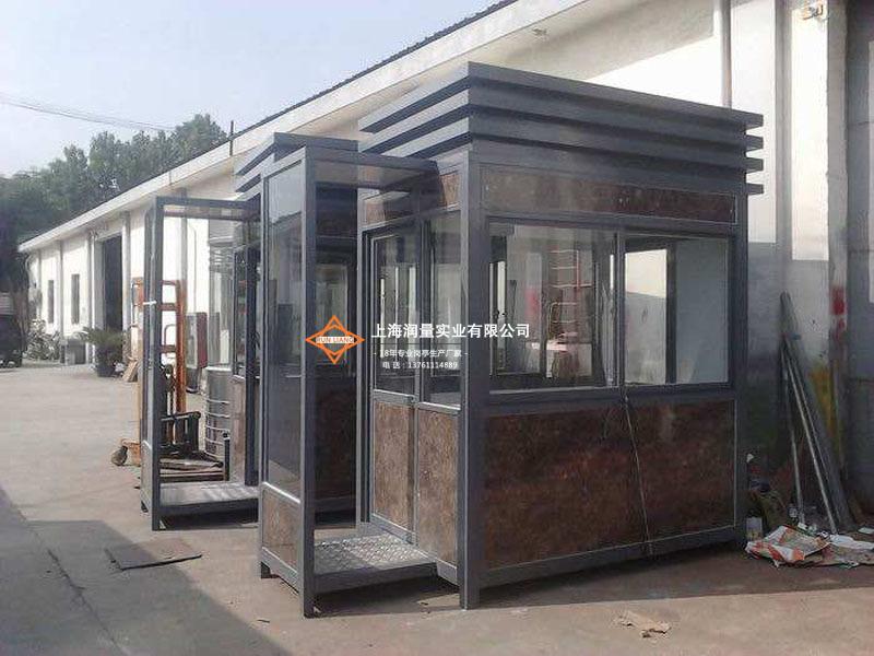 产业园区钢结构治安岗亭 G-132