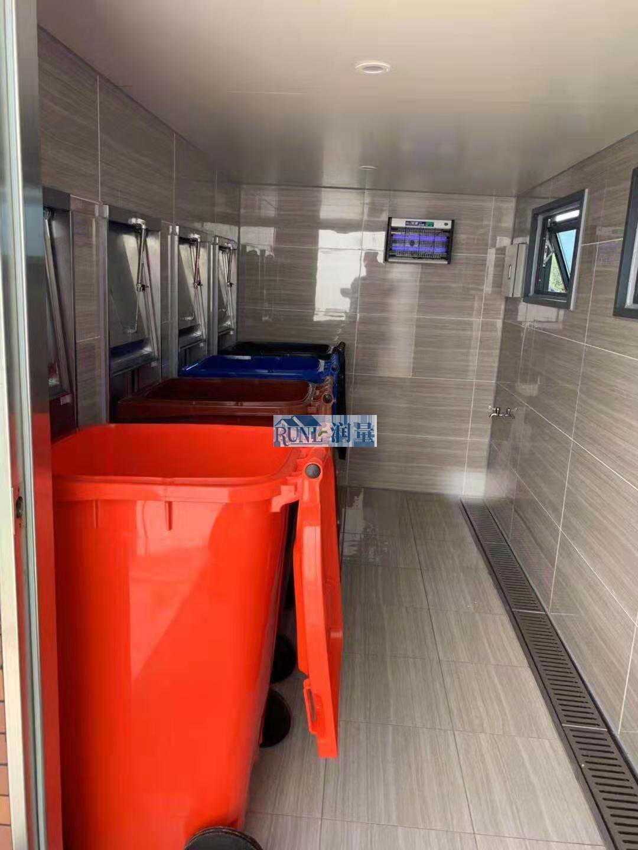 环卫垃圾投送回收站