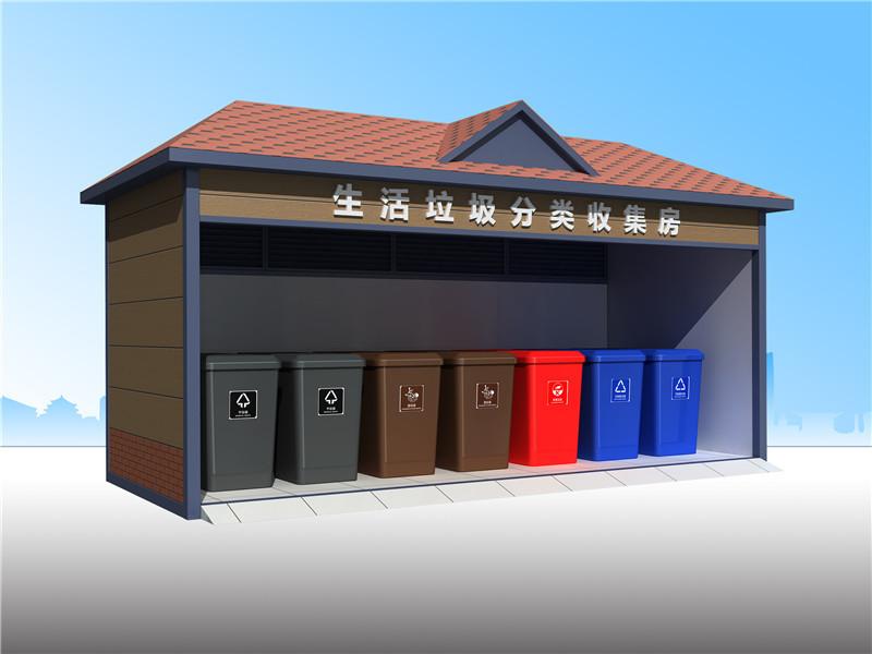 垃圾分类回收屋