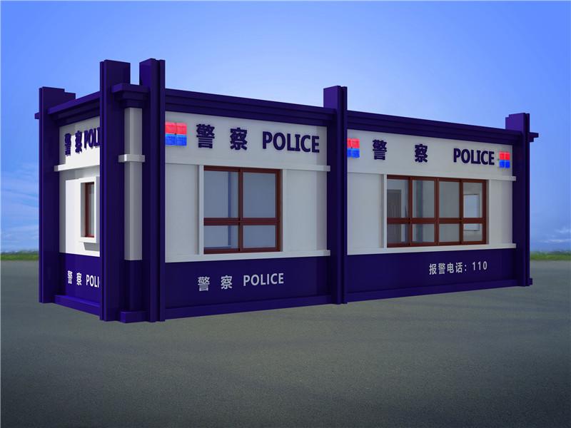 公安交警执法警务岗亭