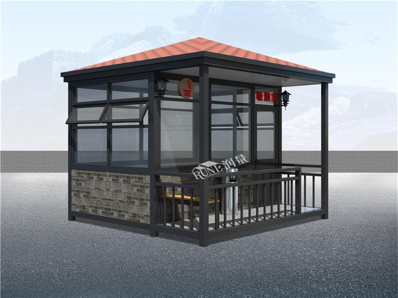 湿地生态公园吸烟屋