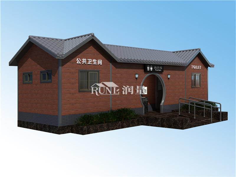 广西桂林城市景区公园公共环卫厕所定制