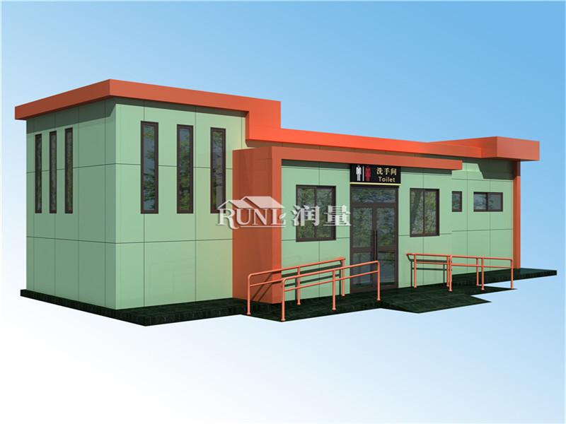 钢结构厕所