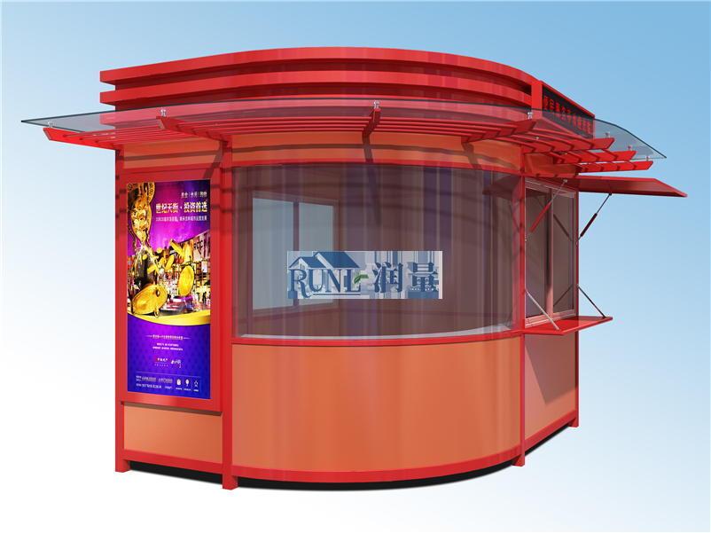 美食街流动售卖亭