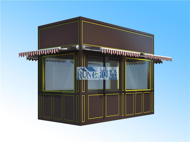 旅游景区木质售货亭