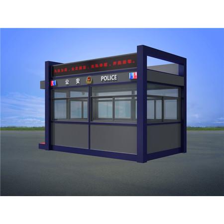 山西临汾机场火车站警察治安执法岗亭