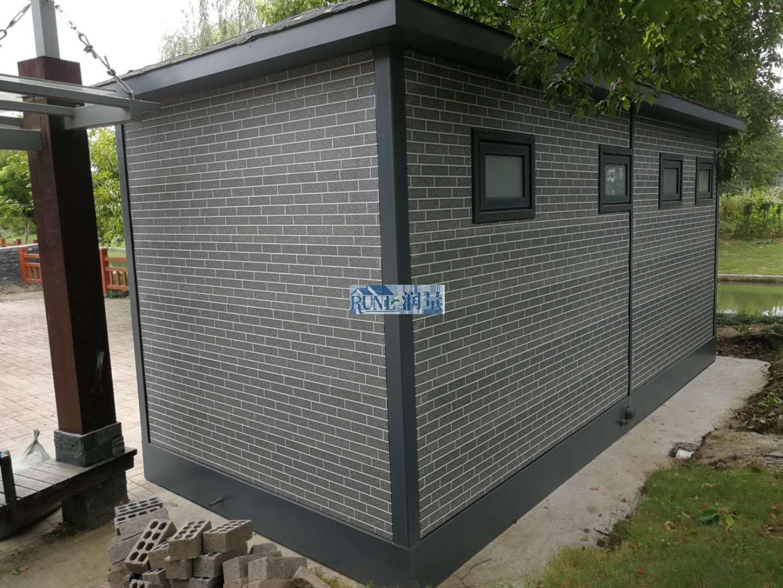 公园成品公共场所移动厕所定制