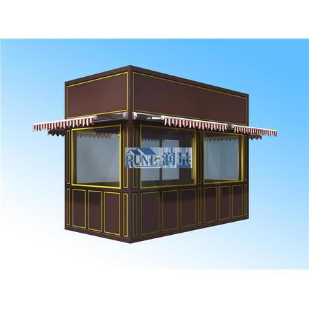 四川成都景区商业街售货亭